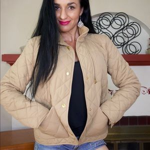Ralph Lauren light brown puffer jacket